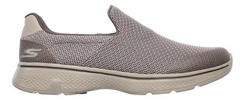Mens Skechers GO Walk 4 Expert Casual Shoe - Khaki 12
