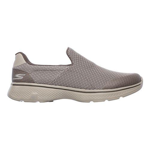 Mens Skechers GO Walk 4 Expert Casual Shoe - Khaki 10