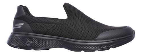 Mens Skechers GO Walk 4 Incredible Casual Shoe - Black 7.5