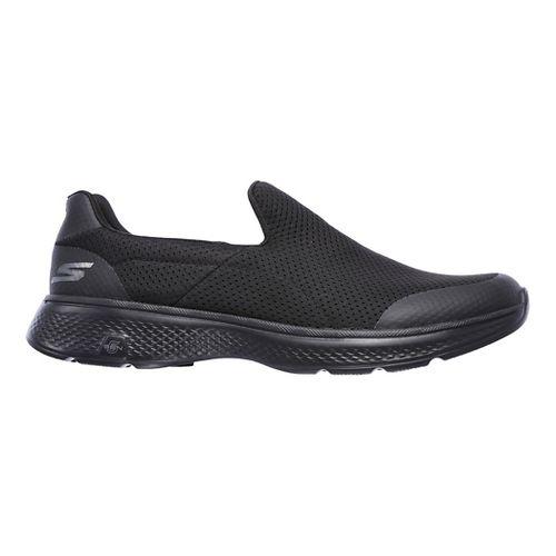 Mens Skechers GO Walk 4 Incredible Casual Shoe - Black 7.5
