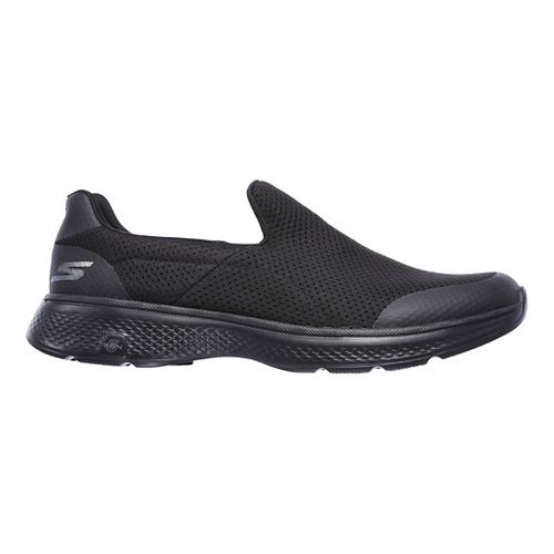 Mens Skechers GO Walk 4 Incredible Casual Shoe - Black 8