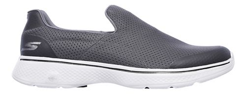 Mens Skechers GO Walk 4 Incredible Casual Shoe - Charcoal 13