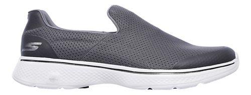 Mens Skechers GO Walk 4 Incredible Casual Shoe - Navy/Grey 9.5