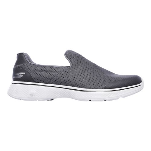 Mens Skechers GO Walk 4 Incredible Casual Shoe - Charcoal 10.5