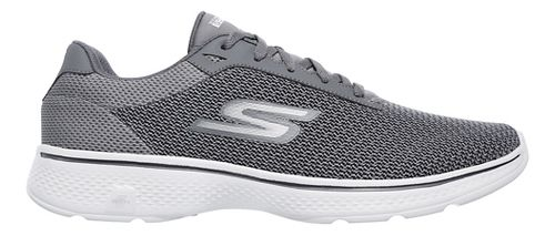 Mens Skechers GO Walk 4 Noble Casual Shoe - Charcoal 12