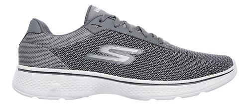 Mens Skechers GO Walk 4 Noble Casual Shoe - Charcoal 9