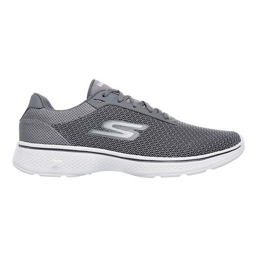 Mens Skechers GO Walk 4 Noble Casual Shoe - Charcoal 12.5