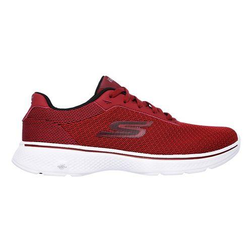 Mens Skechers GO Walk 4 Noble Casual Shoe - Red 7