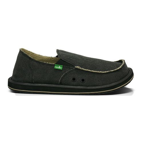 Mens Sanuk Vagabond BT Casual Shoe - Charcoal 16