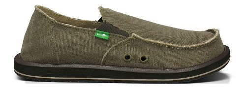 Mens Sanuk Vagabond BT Casual Shoe - Brown 18