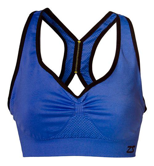 Womens Zensah Gazelle Sports Bras - Electric Purple L