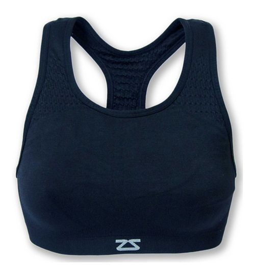 Womens Zensah Seamless Sports Bras - Navy L/XL