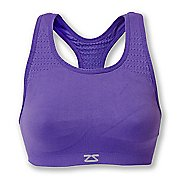 Womens Zensah Seamless Sports Bras - Purple L/XL