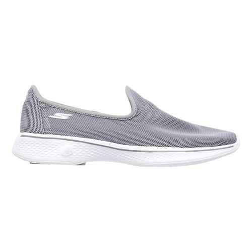 Womens Skechers GO Walk 4 Airy Casual Shoe - Grey 7.5