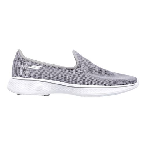 Womens Skechers GO Walk 4 Airy Casual Shoe - Grey 9.5