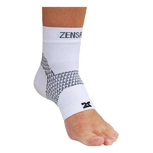 Zensah PF Compression Sleeve (Single) Injury Recovery - White L