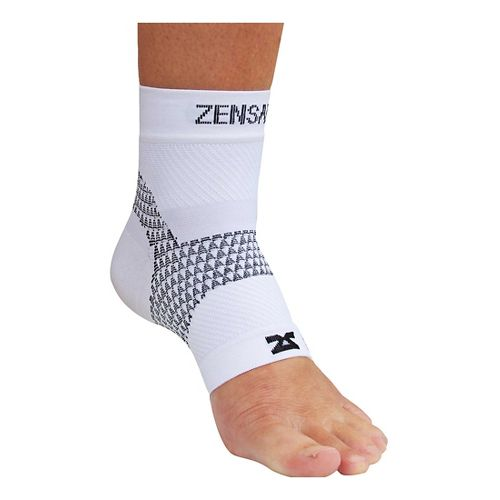 Zensah PF Compression Sleeve (Single) Injury Recovery - White S