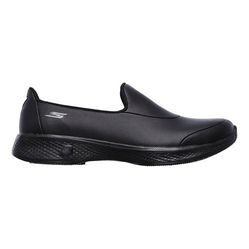 Womens Skechers GO Walk 4  Ascend Casual Shoe - Black 5