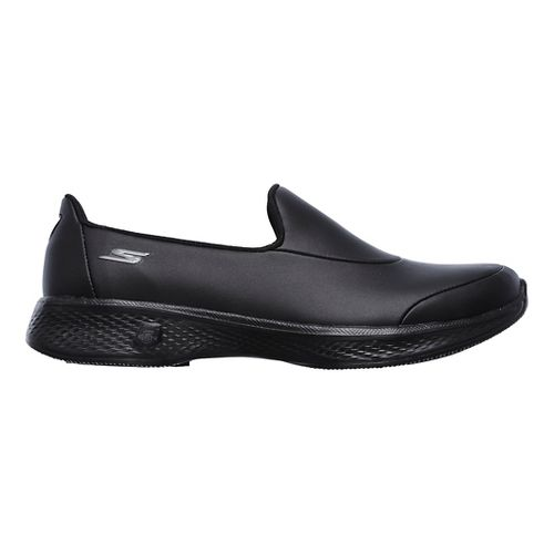 Womens Skechers GO Walk 4  Ascend Casual Shoe - Black 7.5