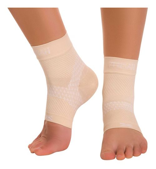 Zensah PF Compression Sleeves (Pair) Injury Recovery - Beige M