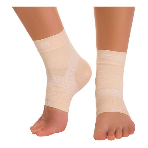 Zensah PF Compression Sleeves (Pair) Injury Recovery - Beige S