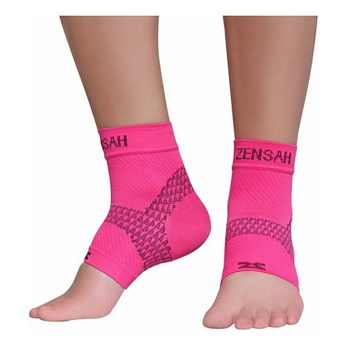 Zensah PF Compression Sleeves (Pair) Injury Recovery - Magenta S