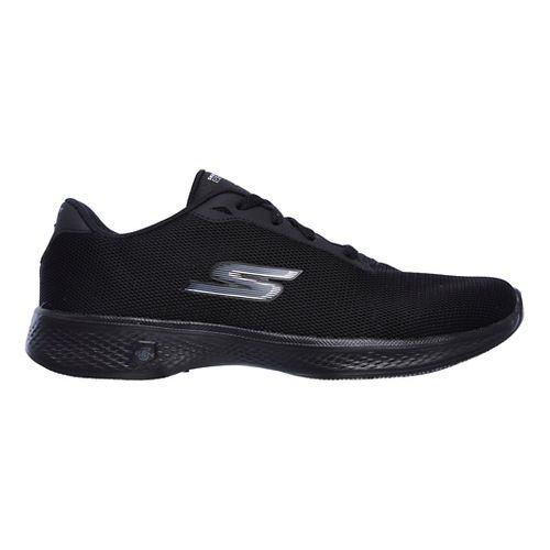 Womens Skechers GO Walk 4 - Brisk Casual Shoe - Black 12