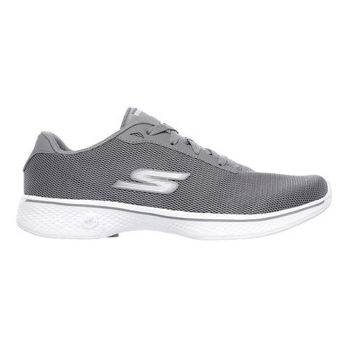 Womens Skechers GO Walk 4 - Brisk Casual Shoe - Grey 9