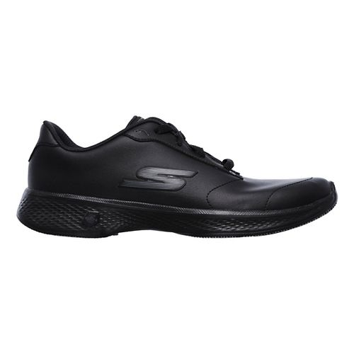 Womens Skechers GO Walk 4 - Clarity Casual Shoe - Black 10