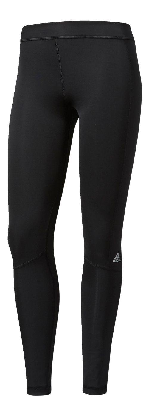 Womens Adidas Techfit Long Compression Tights - Black M