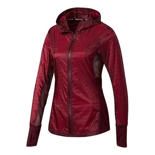 Womens Adidas Tokyo Rain Jackets - Maroon XL