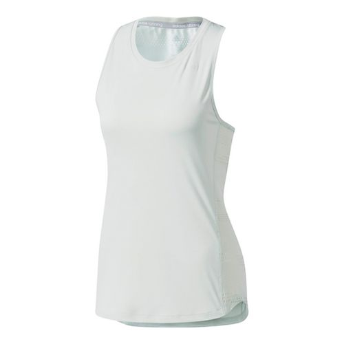 Womens Adidas Tokyo Sleeveless & Tank Tops Technical Tops - Linen Green S