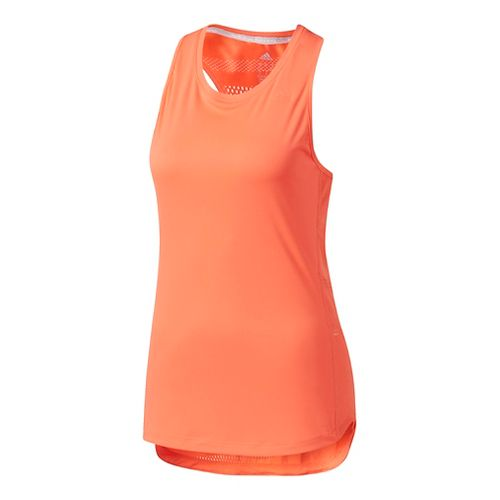 Womens Adidas Tokyo Sleeveless & Tank Tops Technical Tops - Easy Coral M