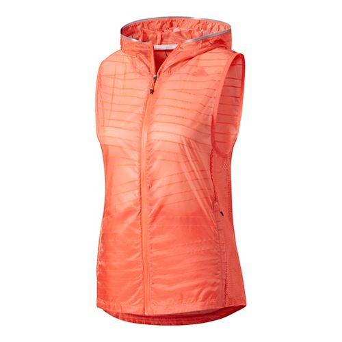 Womens Adidas Tokyo Vests - Easy Coral L