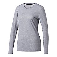 Womens Adidas Ultimate Tee Long Sleeve Technical Tops