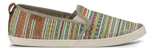 Womens Sanuk Brook TX Casual Shoe - Citrus Lanai Blanket 8