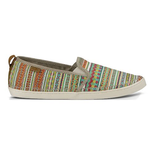 Womens Sanuk Brook TX Casual Shoe - Citrus Lanai Blanket 9