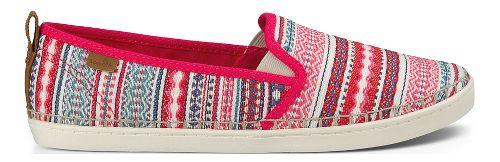 Womens Sanuk Brook TX Casual Shoe - Pink Lanai Blanket 11