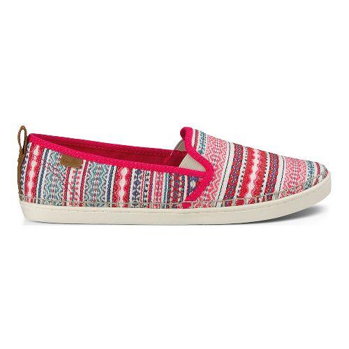 Womens Sanuk Brook TX Casual Shoe - Pink Lanai Blanket 8