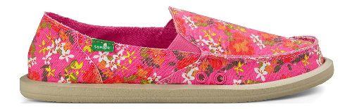 Womens Sanuk Donna Aloha Casual Shoe - Pink Floral 6