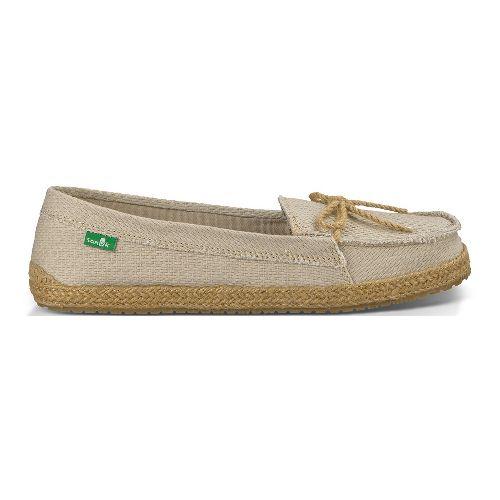 Womens Sanuk Lei'd Back Casual Shoe - Oatmeal 5