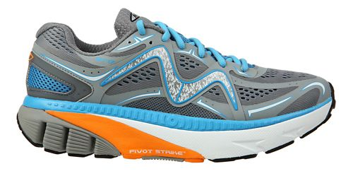 Mens MBT GT 17 Running Shoe - Grey/Blue/Orange 8.5