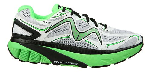 Mens MBT GT 17 Running Shoe - White/Green/Black 11.5