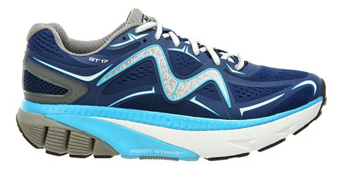 Mens MBT GT 17 Running Shoe - Navy/White/Grey 10