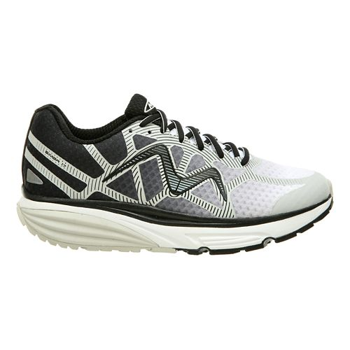 Mens MBT Simba 17 Walking Shoe - Grey/Black 10