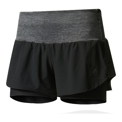 Womens Adidas Ultra Energy Unlined Shorts - Black L