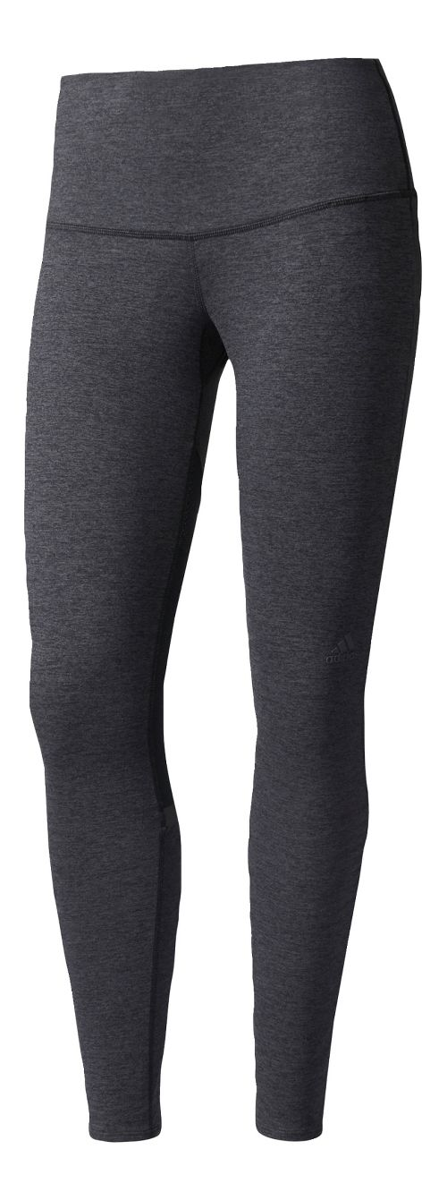Womens adidas Ultra Knit 7/8 Cold Weather Tights - Black XL