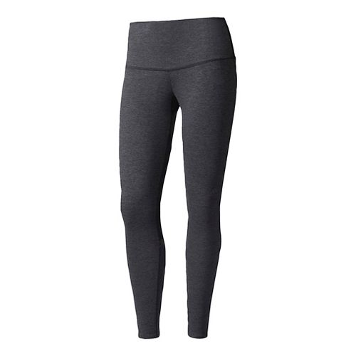 Womens Adidas Ultra Knit 7/8 Cold Weather Tights - Black L