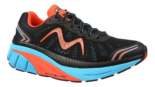 Mens MBT Zee 17 Running Shoe - Black/Blue/Red 12