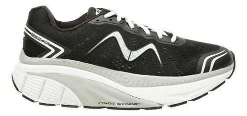 Mens MBT Zee 17 Running Shoe - Black/Silver 8.5